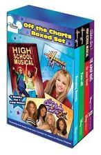MINT SEALED Disney OFF THE CHARTS BOXED BOOK SET Hannah Montana Cheetah Girls