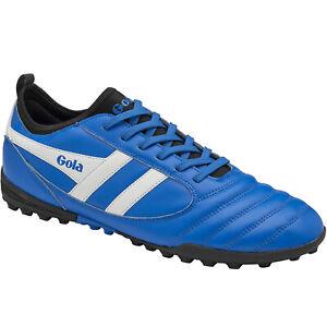 Gola Mens Performance Ceptor Astro Turf TF Football Soccer Boots - Blue