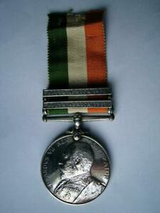 Victorian Boer war medal KSA Pte Hossick 7th & 5th Dragoon Guards & WW1 RAVC