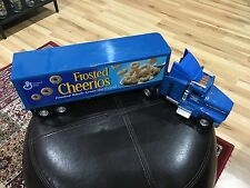 "Frosted Cheerios 22"" Plastic Toy Semi Freight Truck Funrise"
