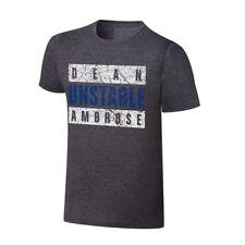 WWE Authentic Men's Dean Unstable Ambrose T-Shirt Size L