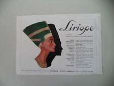 advertising Pubblicità 1949 LIRIOPE