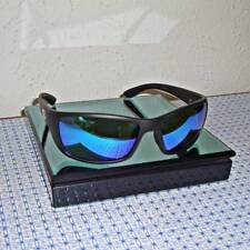 a26e7702522 NEW FLYING FISHERMAN POLARIZED CAY SAL -MATTE BLACK FRAME BLUE MIRROR  SUNGLASSES