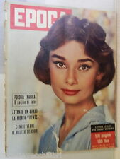EPOCA 28 ottobre 1956 Audrey Hepburn Polonia Anna Maria Pierangeli Wanda Osiris