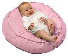 Tumbona Para Bebé Puff Asiento Infantil Cómodo Calmante Dormir Color Rosado