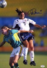 Mia Hamm Signed 11x14 Photo Team Usa Soccer Legend Olympics Psa/Dna Autographed