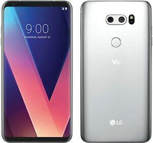 LG V30 VS996 64GB Silver (Verizon Unlocked GSM) Android 4G LTE Smartphone GREAT