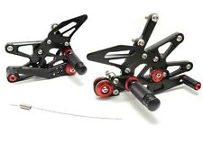 HotBodies Racing Adjustable Rear Sets Footpegs For Triumph Daytona 675R 13-16