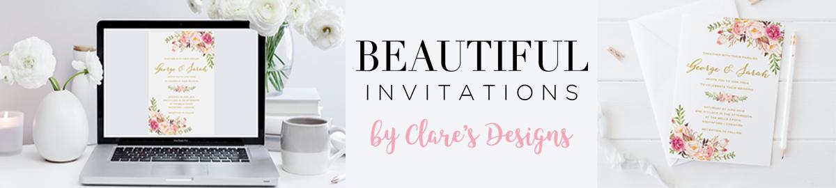 claresdesigns -  invitations