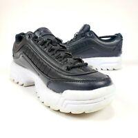 Avia 8.5 Women's ALC-Diva Cross-Trainer Platform Shoes Black/White Sz 8 M