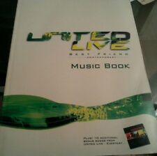 United Live Best Friend (Hillsong Contemporary Songbook Sheet Music Song Book