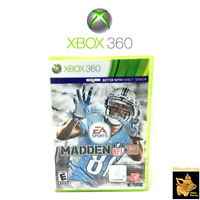 Madden NFL 13 (2012) EA Sports Xbox 360 Game Disc Case Manual Tested Works A+