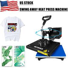 Digital Heat Press Machine 360 Swing Away 9