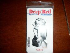 Deep Red Clingstamps Marilyn