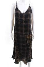 Mes Demoiselles  Womens Gambetta Maxi Dress Black Mix Size 38