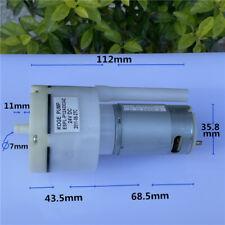 Dc 12v 24v Large Flow Micro Mini 555 Motor Mute Vacuum Oxygen Air Pump Fish Tank