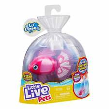 Little Live Pets Lil' Dippers Series 1 - Pink Bellariva Swimming Fish Water Toy