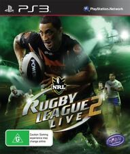 Rugby League Live 2 PS3 Game USED