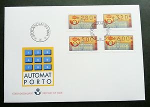 [SJ] Sweden 1994 ATM (frama label FDC)