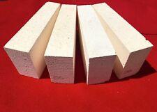 "K-26 Wedge Insulating Fire Brick 2600F Thermal Ceramics 9 x 4.5 x 2.0"" to 2-½"""
