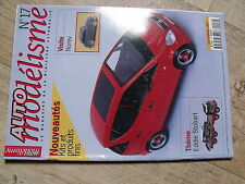 $$ Revue Auto modélisme N°17 Norev  Eddie Stobart  MG B Roadster Porsche 911 GT1