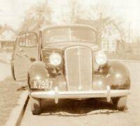 Vintage Antique Chevrolet Car 1935 New Jersey License Plate Photo