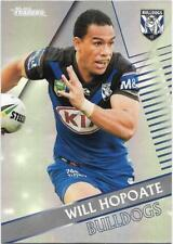 2018 NRL Traders Pearl Parallel (PS024) Will HOPOATE Bulldogs