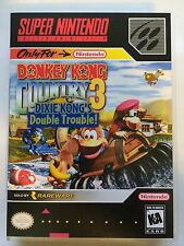 Donkey Kong Country 3 - Super Nintendo - Replacement Case - No Game