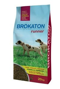 20kg Brokaton Dog Runner Hundefutter für aktive Hunde