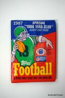 1987 Topps Football Wax Pack Fresh From Box Possible Flutie Kelly Walker RC