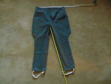 Vintage Wool Riding Trousers