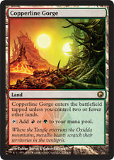 Copperline Gorge FOIL x1 Magic the Gathering 1x Scars of Mirrodin mtg card