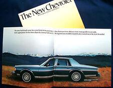 Prospekt brochure 1977 Chevrolet Chevy Caprice Classic * Impala (USA) PRESTIGE