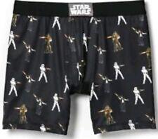 Star wars bio world  underwear for men size L Boxer brief black poly stretch