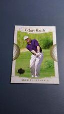 MICHAEL CLARK II 2001 UPPER DECK GOLF CARD # 160 B7299