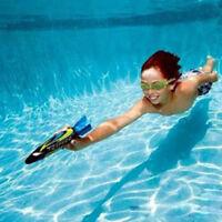4PCS/Set Underwater Torpedo Rocket Swimming Pool Toy Swim Dive Sticks Games New