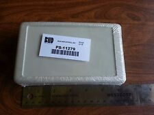 Project Box Bud Industries Ps 11279 Polystyrene Gray 63 X 375 X 141