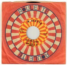 JAMES, Tommy; & THE SHONDELLS  (It's Only Love)  Roulette 4710