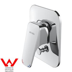 Methven Waipori Shower Mixer with Diverter Faucet Bath Wall Mounted Chrome WELS