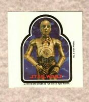 1977-78 Topps Star Wars Movie Photo Pin C3-PO #5/56