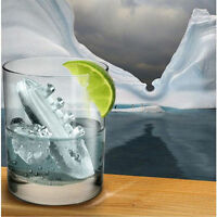 Titanic & iceberg silicone Ice Cube forme Jelly Tray Maker moule grande forme