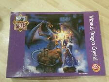 Wizard's Dragon Crystal: Master Pieces Round Puzzle by American Puzzles