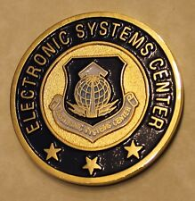 Electronic Systems Center Commander Air Force Challenge Coin
