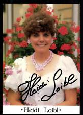 Heidi Loibl Autogrammkarte Original Signiert ## BC 53035
