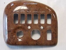 TRACKER TAHOE 195 IO SWITCH PANEL PLASTIC WOODGRAIN TR135795SB MARINE BOAT