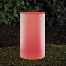 2 Stück LED LoungeLicht mehrfarbig Säule 45x20cm Gartenlampe RGB LK05-3, B-Ware
