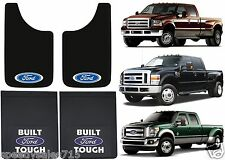 "FRONT & REAR FORD LOGO MUD FLAPS DUALLY F350 F450 11x19 18x24"" NEW FREE SHIPPING"