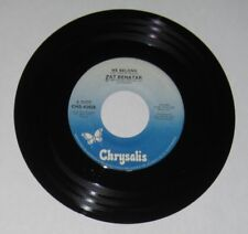 "Pat Benatar - Canadian 45 - ""We Belong"" / ""Suburban King"" - NM"