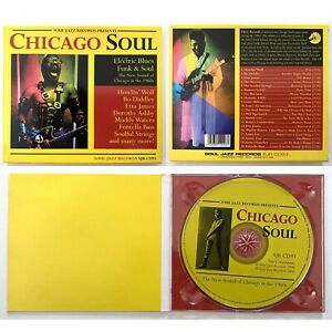 CHICAGO SOUL Blues/Funk/Soul - 20-Track Soul Jazz CD 2004-Etta James/Bo Diddley