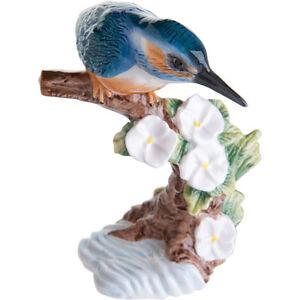 John Beswick Kingfisher Hand Painted Ceramic Figurine (BOXED)